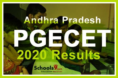 Andhra Pradesh PGECET 2021 Result