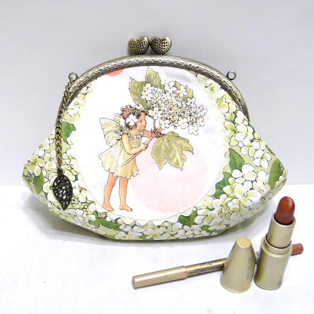 Цветочные феи Сесилии Баркер - детская сумочка Калинка, можно носить как клатч или как сумочку, установив цепочку 40 см или 120 см