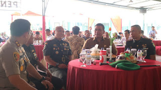 Pisah sambut Dandim 0614 Kota Cirebon