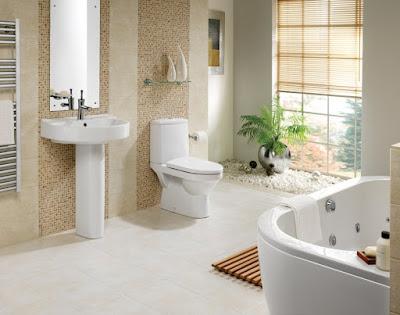 Desain kamar mandi natural