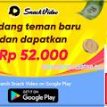 Tutorial Mendapatkan Uang dan Mencairkannya Dari Snack Video