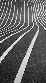 wallpaper background hitam putih garis jalan