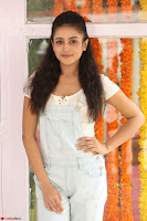 Mishti Chakraborty in lovely Jumpsuit and crop top at Wings Movie Makers Production No 1 movie launch ~  Exclusive 86.JPG