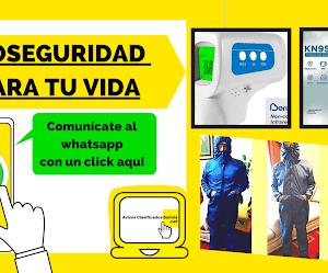 MATERIAL DE BIOSEGURIDAD (TODA BOLIVIA)
