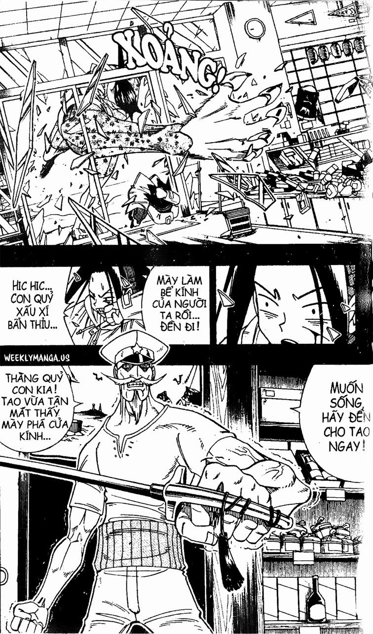 Shaman King [Vua pháp thuật] chap 168 trang 8