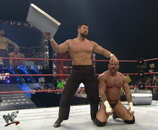 WWE / WWF Rebellion 2000 - Steve Blackman successfully defended the WWF Hardcore Championship against Perry Saturn