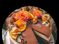 Amazing Mocha Orange RAW Cake