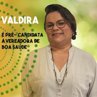 Valdira Alves anuncia pré-candidatura