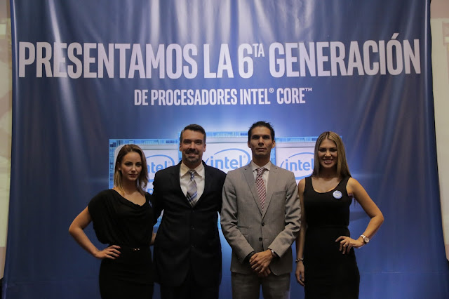 Intel realizó la presentación de su 6ta generación Intel Core en Ecuador