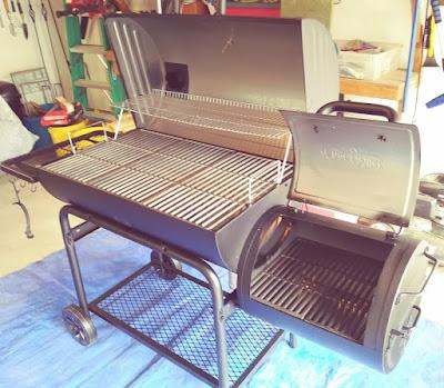 Char-Griller Offset Smoker