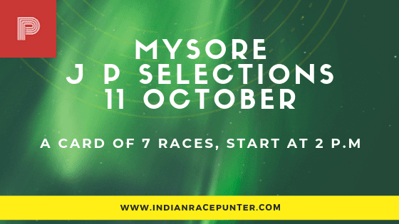 Mysore Jackpot Selections 11 October