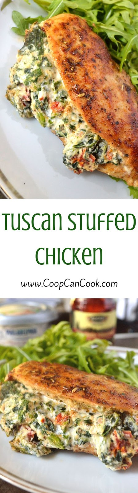Stuffed Tuscan Chicken
