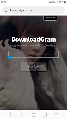 DownloadGram - Cara Download Instagram Foto, Video dan IGTV Tanpa Aplikasi di Instagram - hostze.net