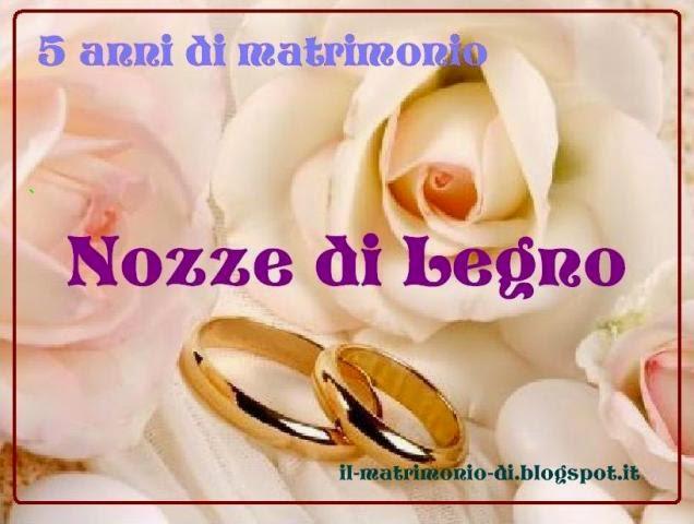 Top IL MATRIMONIO DI : 5 anni di matrimonio – Nozze di Legno UG24