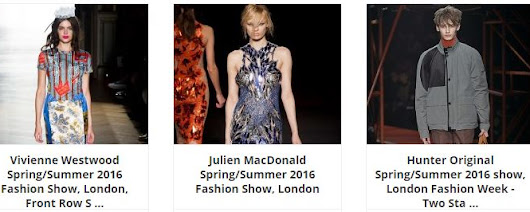How do you fancy going to some of the top Fashion Shows at LFW?