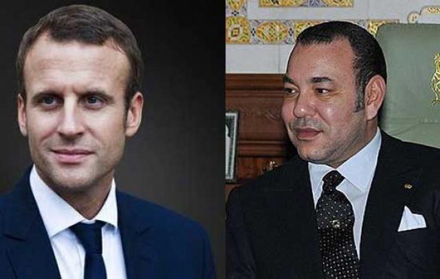 الرئيس الفرنسى ايمانويل ماكرون فى زيارة للجزائر والمغرب
