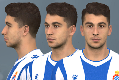 PES 2017 Faces Marc Roca by WER