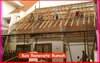 Cara Kira Kos Renovate Rumah Teres dan Kampung