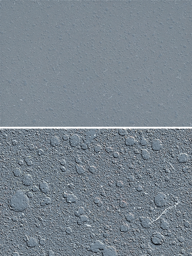 Blue metal raised bumps texture