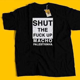 Camiseta Feminista Macho Palestrinha - Mansplaining