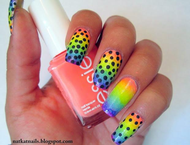nat kat nails rainbow