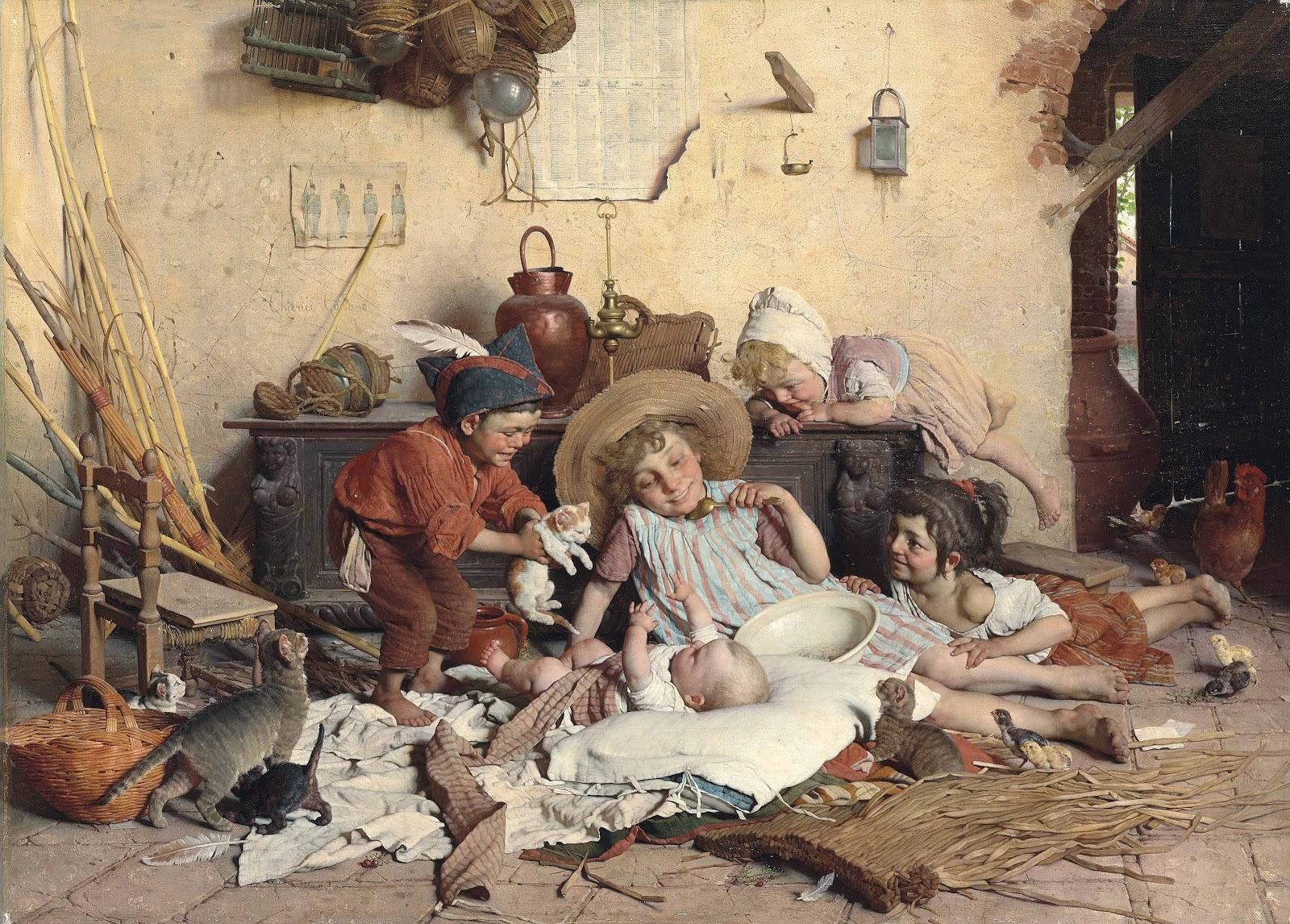 Alegrias Infantis - Gaetano Chierici