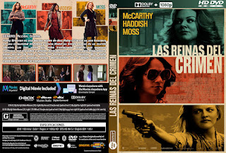 LAS REINAS DEL CRIMEN – THE KITCHEN – 2019 [COVER – DVD]