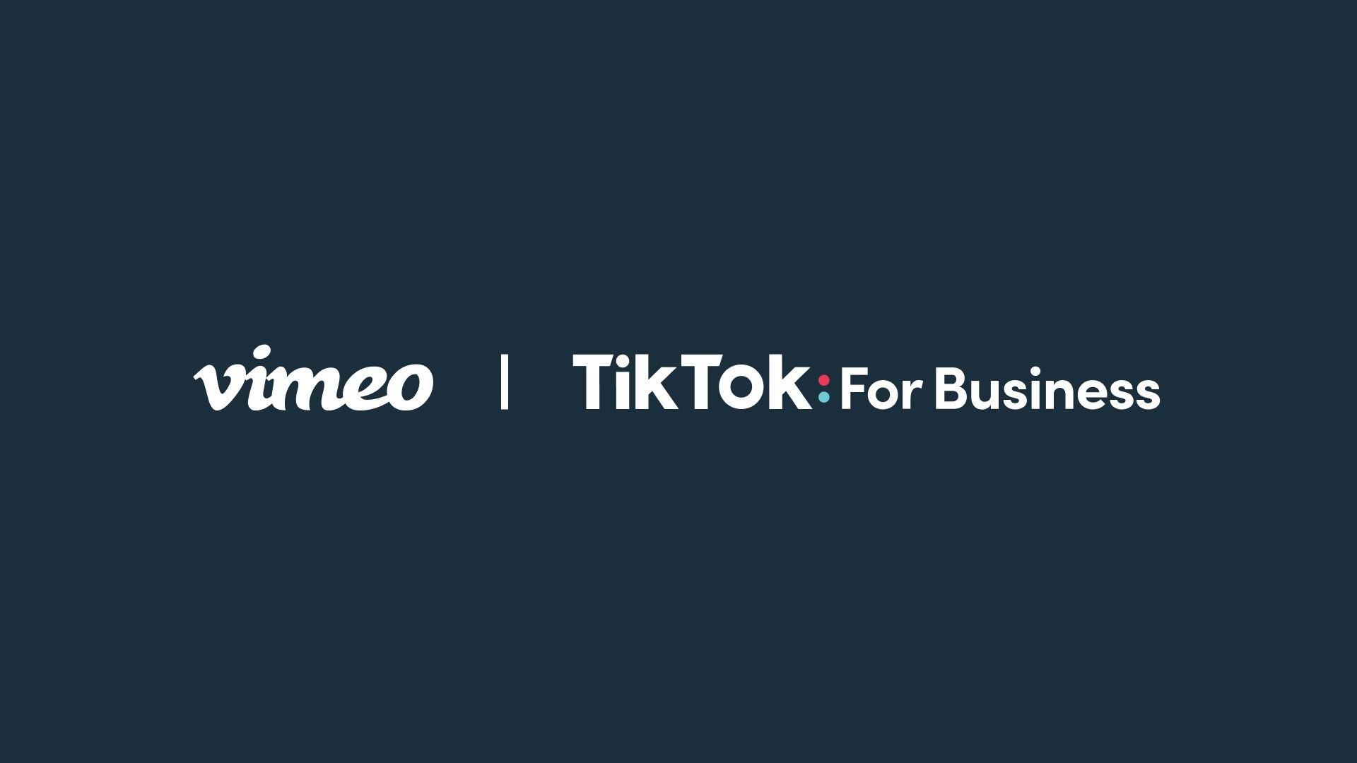 Vimeo and TikTok Partner to Drive Small Business Success With Video Ads