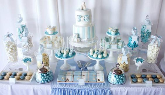 28 ideas para decorar mesas de dulces de todo tipo - Hacer mesa dulce bautizo ...