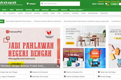 Download Aplikasi toko Online berbasis web Gratis mirip seperti Bukalapak