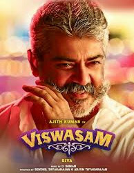 Viswasam (2019) is a tamil language action drama film starring Ajith Kumar,  Nayanthara  and Sakshi Agarwal in the lead roles