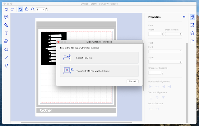 How to Cut an SVG File on a Scan N Cut 350 with Wireless Connection