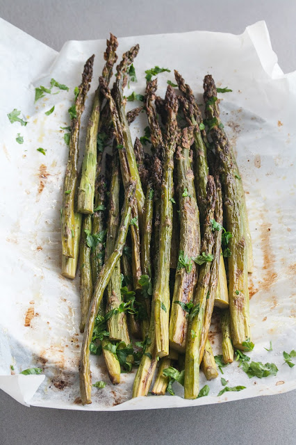 Asparagi verdi al forno