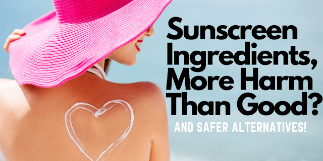 Sunscreen Ingredients, More Harm Than Good By Ginjo Beauty And Barbies Beauty Bits