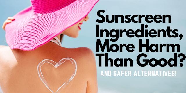 Ingredientes de filtro solar, mais mal do que bem por Ginjo Beauty And Barbies Beauty Bits