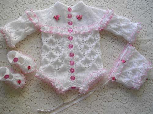 Vest/Onesie/Romper Set 0-3 Months