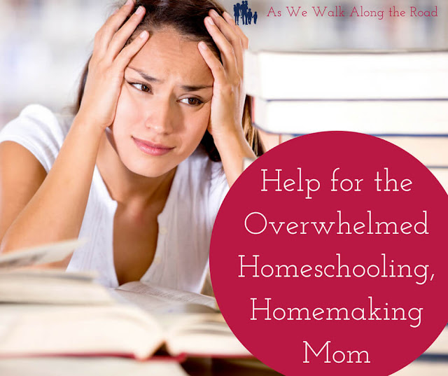 Homemaking help for homeschool moms