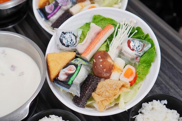 台南永康區美食【和之國麻辣鍋】餐點介紹-套餐菜盤