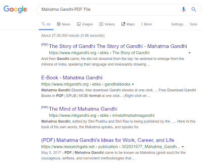 How to search PDF File In Google  My Best Method