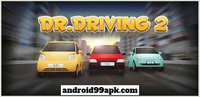 لعبة Dr. Driving 2 v1.41 مهكرة بحجم 21 MB للأندرويد
