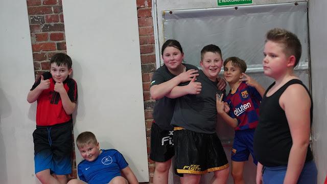 Treningi sportów walki dla najmłodszych w wieku od 7 do 12 lat.