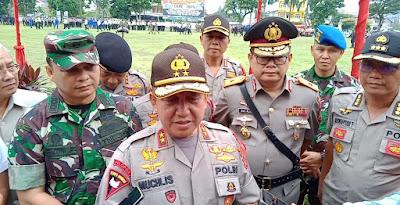 Ops Lilin Siginjai 2019, Polda Jambi Terjunkan 1141 Orang Personil