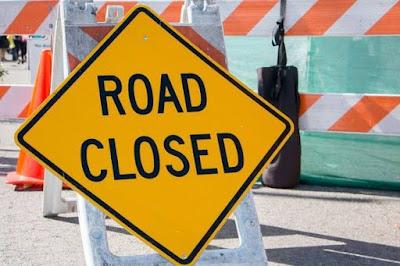 Jalan Medan Utara ditutup