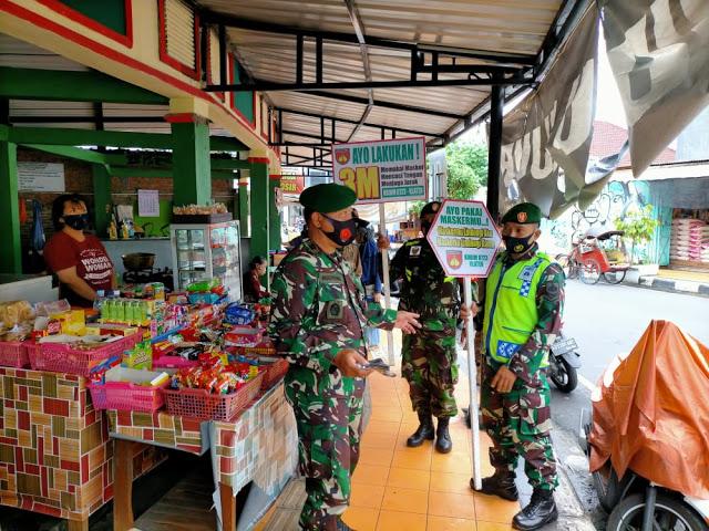 Perwira Siaga Kodim 0723 Klaten: Semangat Mencari Rejeki, Jangan Abaikan Prokes