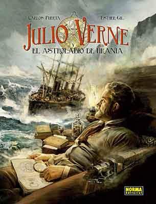Julio Verne y el Astrolabio de Ucrania, la nueva obra de Carlos Puerta