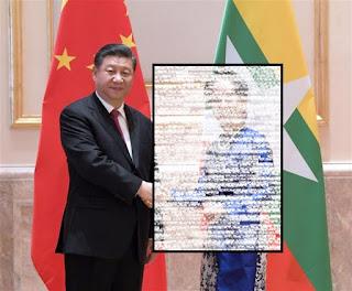 Dikunjungi Xi Jinping, Suu kyi