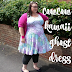 CowCow kawaii ghosts plus size dress