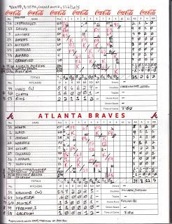 Phillies vs. Braves, 09-27-17. Braves win, 7-3.