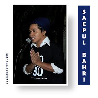saepul bahri artist loca institute