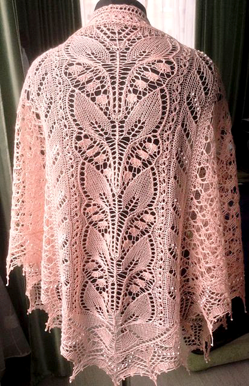 Lily of the Valley Rosea - Knitting Pattern